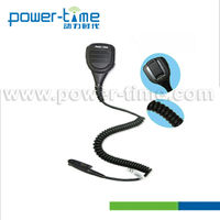 High quality Water-resistand antenna handy talkie TD-V60 PLUS speaker mic (PTE-1308)