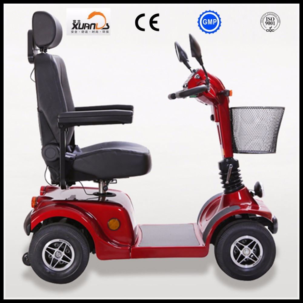 4 wheels electric scooter for the elderly with ce cheap for Motorized scooters for the elderly