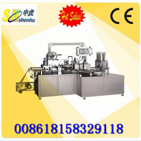 High speed automatic syringe blister packing machine