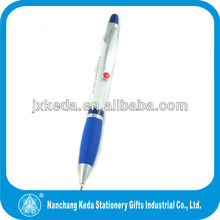 Personalized Grey Ergonomic SureGrip Ball Point Pen - LOGO Laser Engraving