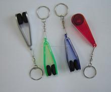 plastic keychain microfiber glasses cleaner