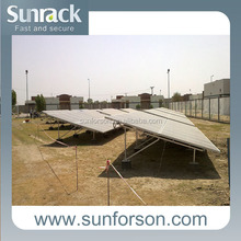 Solar energy mount brackets and structures