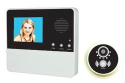 """2.8"""" NEW design door viewer nice look good vioce doorbell security door cat eye"""
