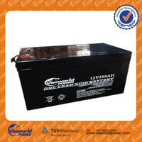 high capacity hot sale cheap price vrla sealed acid storage deep cycle rechargable batteries for solar