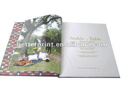 color printed magazine, company catalogue