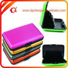 Colorful Blank Luxury ABS /Plastic Business ID Card Case /Card Holder