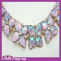 News desgin 2.7cm wedding dress accessories Welding acrylic chain