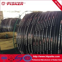 2 Layers Steel Wire Reinforced Hydraulic Rubber Hoses R2AT R2A 2SN 2ST