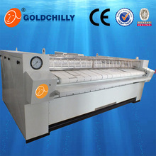1600mm, 2500mm, 3000mm Bedsheets LPG Flatwork Ironer Gas Heating ironer Machine for hotel price