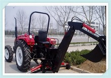 Good price LW-6 small garden tractor backhoe for sale