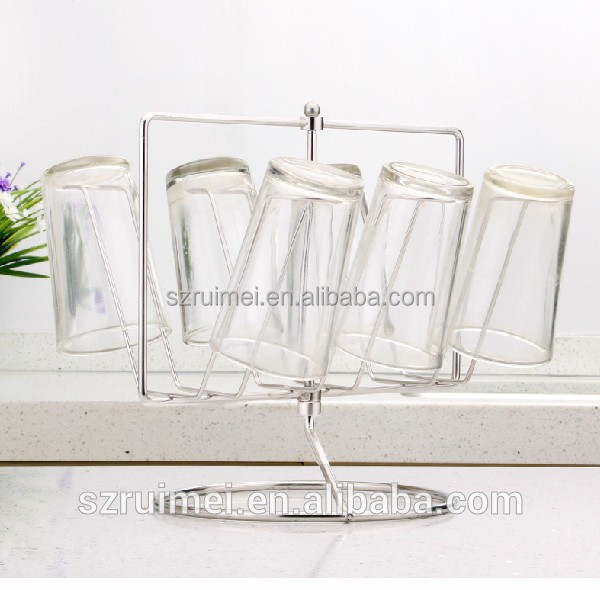 Top Table Cup Holders : Customized detachable table top glass cup holder buy