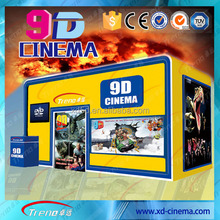amusement park rides within electric 5d theater ,hydraulic interactive 7d cinema 9d cinema theater movie