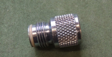 CNC Machining Knurled Paintball Adapter With O Ring