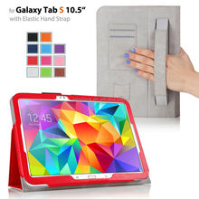 stand leather case cover for Samsung Galaxy Tab s 10.5 T800 11 colors factory supply