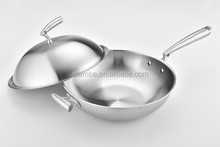 Stambe High Quality3 layers stainless steel induction wok