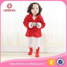 toddlers super warm cartoon jacqaurd cotton tights in winter