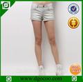 ocoo superior de diseño de moda el servicio del oem para niñas y damas lavado la mujer pantalones vaqueros pantalones cortos