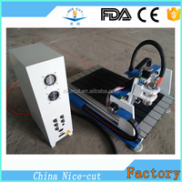 for electronics Industry NC-A6090 pcb engraving cnc router circuit board making machine