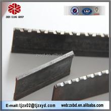 ผู้ผลิตบันไดตะแกรงเหล็กน้ำหนัก, หยักตะแกรงเหล็กแผ่นรีดร้อนเหล็กแท่งแบน