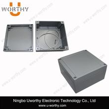Aluminum Diecast Enclosure with Shallow Lid Deep Body 5.51'' X 5.51'' X 2.95''
