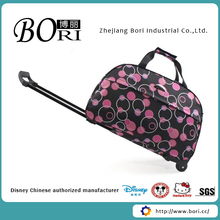 expandable travel bag with shoe compartment,travel trolley luggage bag