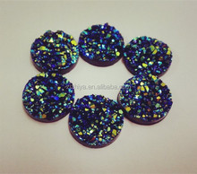 round 12mm natural gemstome wholesale druzy cabochon