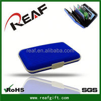 Aluma aluminum wallet case unique promotion gift case with card holder for samsung galaxy s4 mini