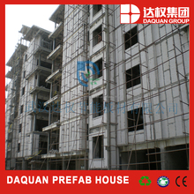 wuhan daquan reforced foam concrete panel with steel mesh inside/steel mesh size can be customized