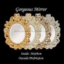 de estilo italiano del siglo 18th estilo italiano espejo tallado con diseño decorativo calcomanías para el espejo