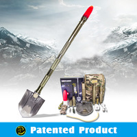 Outdoor Hunting Gear Multifunction Spade With The Best Knife