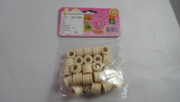Factory supply bulk wooden beads animal beads arts and craft wooden beads