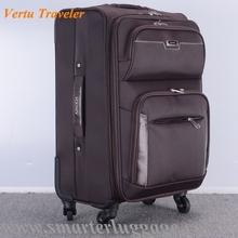 2015 - 2016 New American Traveler Nylon Trolley Luggage