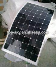 50W ,100W,120W flexible solar panel Flexible solar panels sunpower mono solar panel,25 years quality warranty