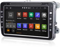 Android 4.4.4 System 8 inch Car multimedia dvd player GPS Navigation For VW PASSAT(MK6)