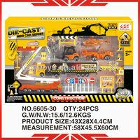 1:87 scale diecast truck 6605-30 diecast car play set