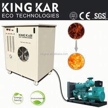 User friendly satable gás posto para fora motor sludging máquina limpa