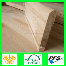 China supplier 1220*2440mm rubber Finger Jointed Boards