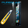 Pureglas Brand Anti uv 2.5D Round edge Clear Premium tempered glass screen protective film for iphone 5/5s