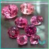 Natural semi precious stones pink round tourmaline gemstone prices