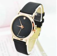 Hotsale Fashion Simple Men's Quartz Watch bracelet watch leather lovers watch factory wholesale J-327
