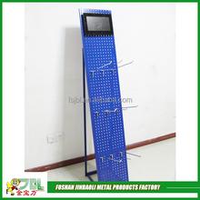 high quality mesh display stand steel phone case display rack