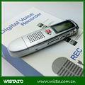 Segurança micro escondida gravador de voz para a reunião e estudantes vox gravador de voz