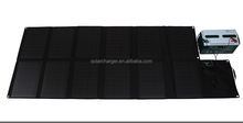 120W silicon solar cell charge car battery and loptop