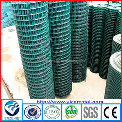 Hot sale cheapest Holland wire mesh fencing /europe style PVC coated holland wire mesh (manufacturer )