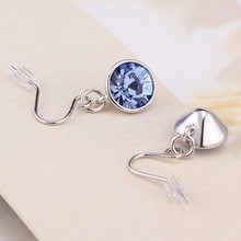 new design Birth Stone earrings for girls made with Swarovski Elements Crystal 20232 rodio