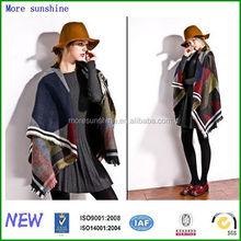 wholesale new exporting lady big pashmina wool scarf Factory Custom new exporting lady big pashmina wool scarf