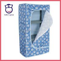 Plastic Folding Modern Bedroom Furniture Baby Wardrobe