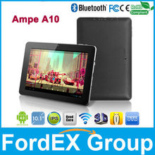 10.1inch Ampe A10 Android Tablet PC Freescale IMX6Q Quad Core 1.2GHz RAM 1GB DDR3 ROM 16GB IPS capacitiva Wifi Bluetooth