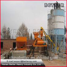henan hzs50 mejor foame concreto del sistema de procesamiento por lotes
