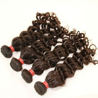 Homeage 100 percent remy brazilian hair weaving, deep wave brazilian virgin hair, overseas brazilian hair